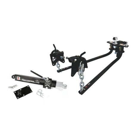 Camco 48056 Eaz-Lift Bent Bar Weight Distribution Hitch With Sway Control - 600 Lb.