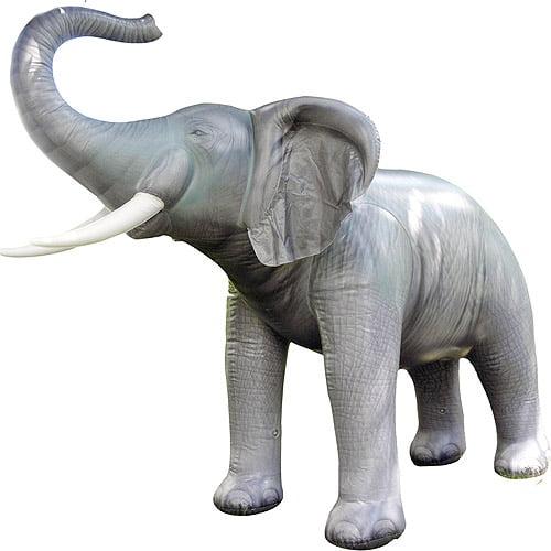 7' Tall Inflatable Elephant