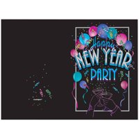 product image new years eve cheer invitations 8ct