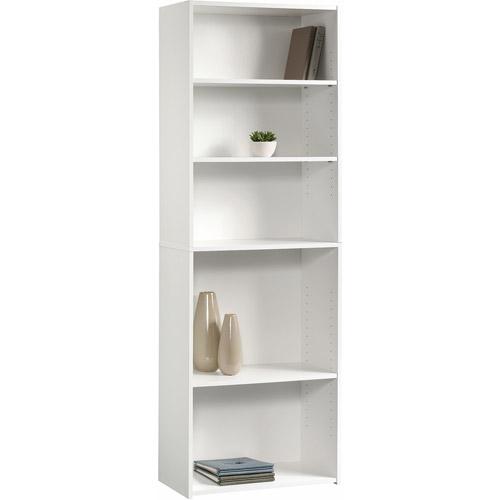 Sauder Beginnings 5-Shelf Bookcase, Soft White by Sauder Woodworking