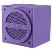 Best Cube Speakers - ihome bluetooth rechargeable mini speaker cube - purple Review