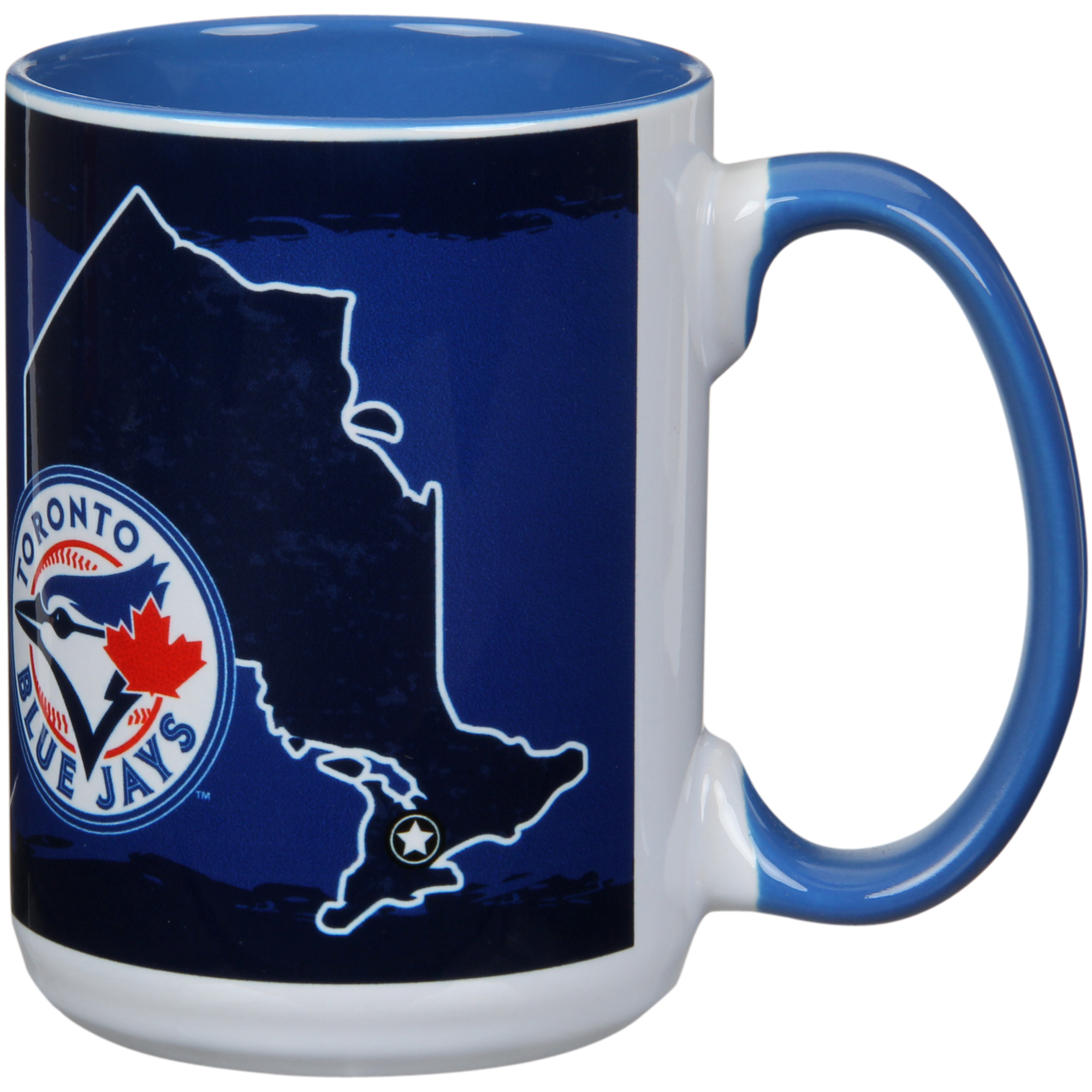 Toronto Blue Jays 15oz. It's Your State Of Mind Mug - No Size