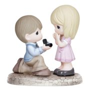 Precious Moments, Will You Marry Me?, Bisque Porcelain Figurine, 133022 NEW