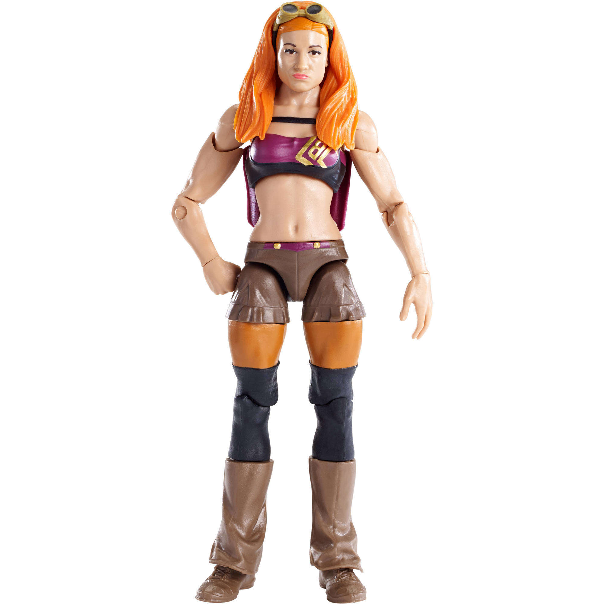 """WWE Becky Lynch Posing Action Figure Superstar Scale 6"""""""