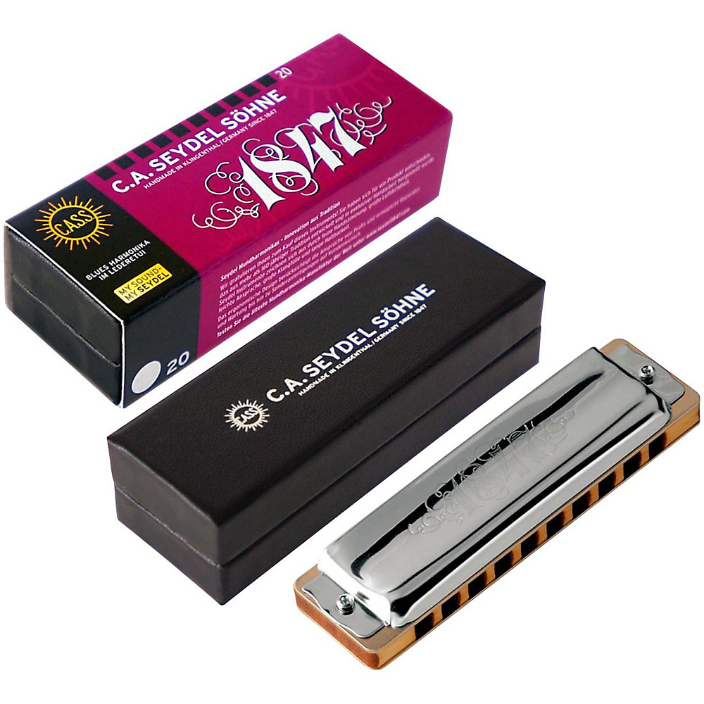 SEYDEL Blues Classic 1847 Harmonica Low F