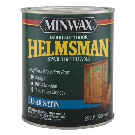 Minwax Helmsman Indoor / Outdoor Spar Urethane Finish, 1 Qt, -