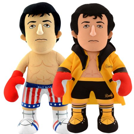 Rocky Dynamic Duo: Rocky Gold Robe and Rocky 10