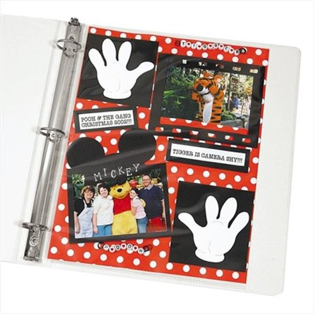 C-Line Products 62077BNDL2BX Memory Book 11 x 8 .5 Scrapbook Page Protector Top Load Clear 50-BX - Set of 2 BX