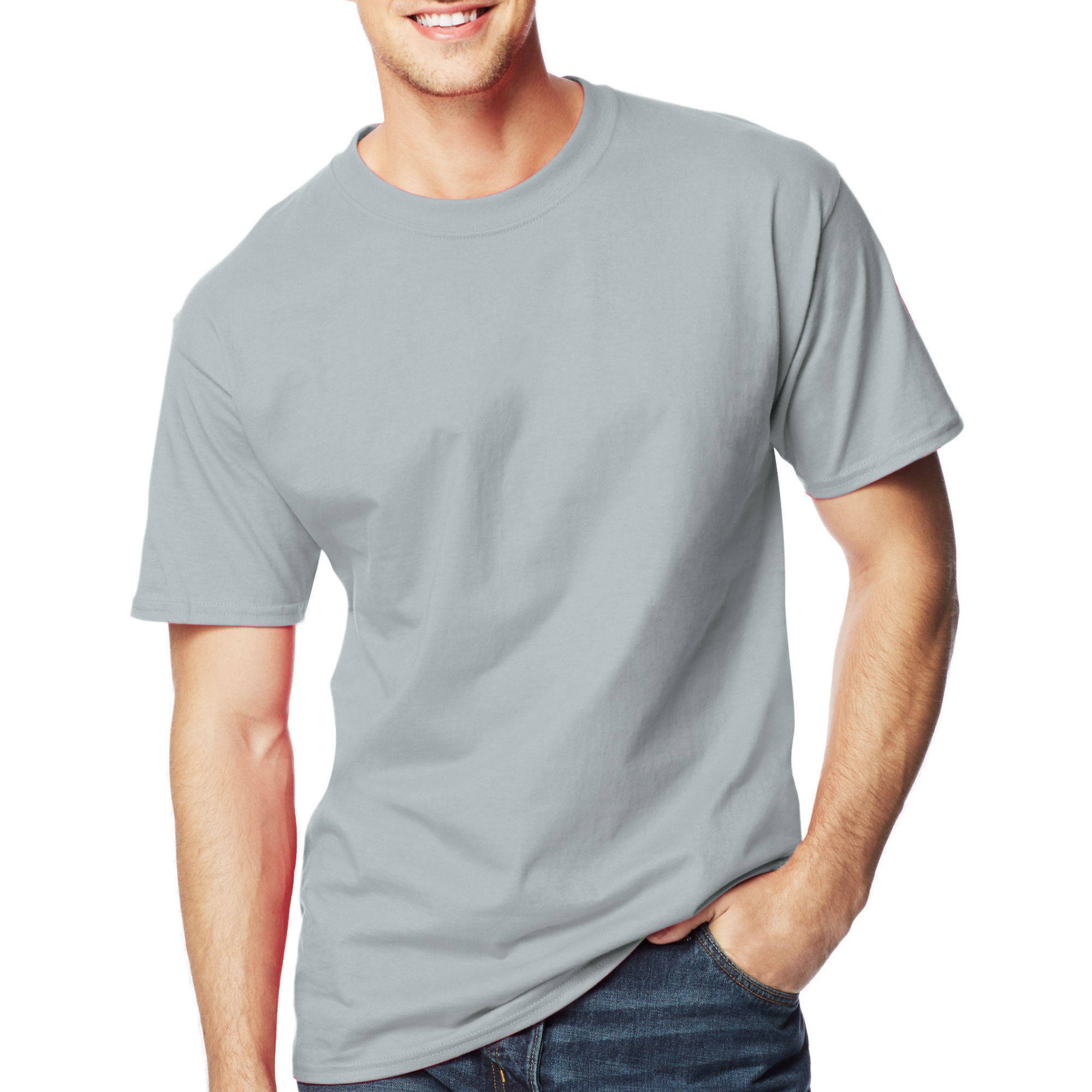 Hanes Big and Tall Men's Beefy-T Short Sleeve Tee