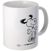 CafePress Snoopy- Dancing Dog Mug Unique Coffee Mug, Coffee Cup CafePress by