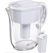 Brita Everyday Water Filter Pitcher with Filter, 10 Cup - White