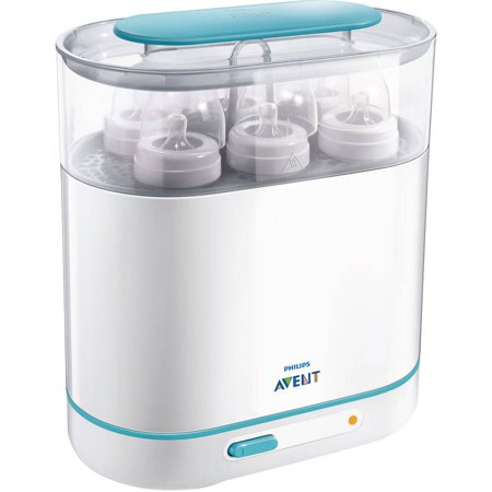 Philips Avent 3-in-1 Electric Steam Sterilizer, BPA-Free