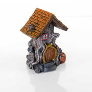 "BioBubble Decorative Woodland House, 4.5"" x 4"" x 5.5"""