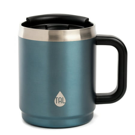 Tal Boulder Vacuum Insulated Travel Mug, 14 oz, Slate