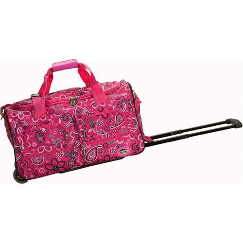 "Rockland Luggage 22"" Rolling Duffle Bag"