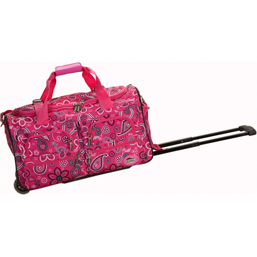 "Rockland Luggage 22"" Rolling Duffle Bag"