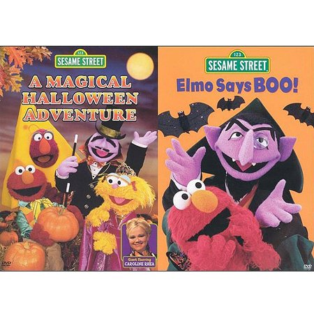 Halloween Adventure.Sesame Street A Magical Halloween Adventure Elmo Says Boo Sesame Street