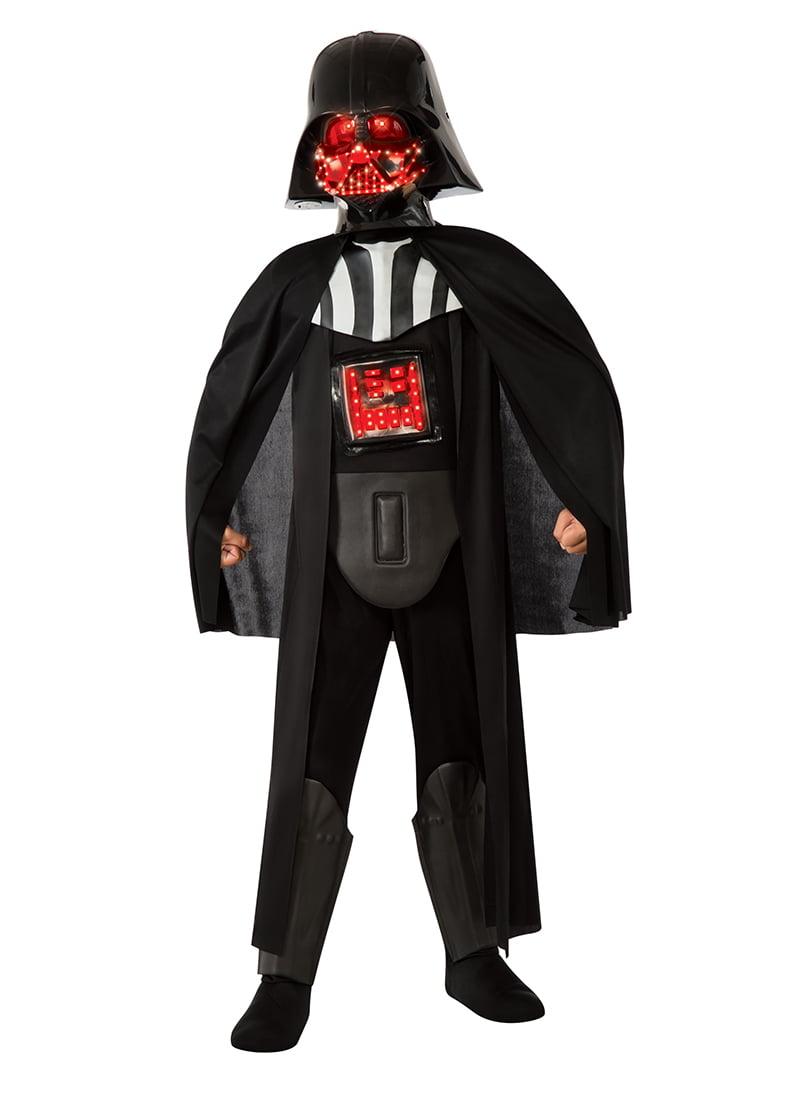 deluxe light-up darth vader child halloween costume - walmart