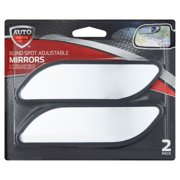 Auto Drive Blind Spot Adjustable Mirrors, 2 pack