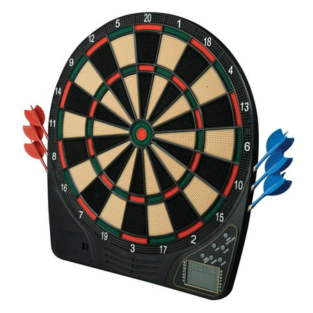 - Franklin Sports FS1500 Soft Tip Electronic Dartboard and Darts Set