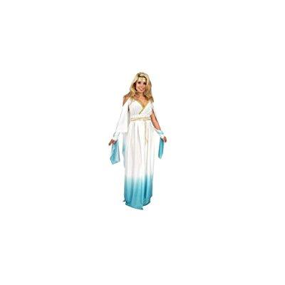 women x-large (14-16) two-tone roman or greek goddess costume