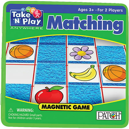 Take 'N' Play Anywhere Magnetic Game - Matching (Play School Games)