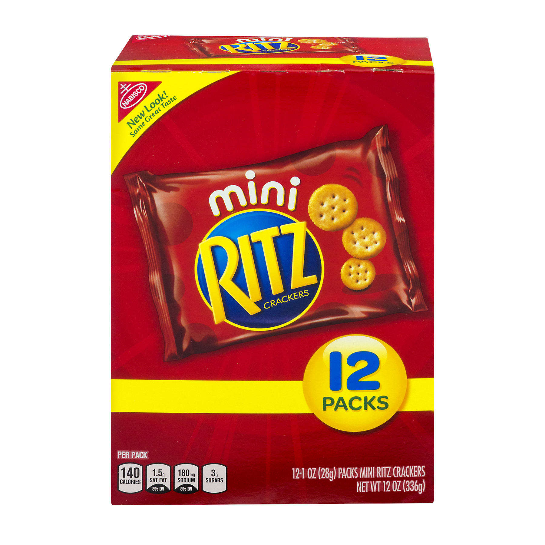Mini Ritz Crackers - 12 PK, 1.0 OZ
