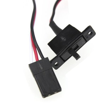 RC Auto 10A Brushed ESC Two Way Motor Speed Controller Geen Rem voor 1/16 1/18 1/24 RC Auto Boot Tank - image 1 de 5