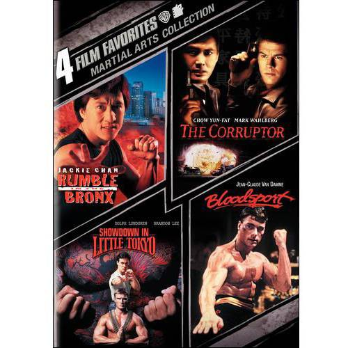 4 Film Favorites: Martial Arts Collection - Rumble In The Bronx / The Corruptor / Showdown In Little Tokyo / Bloodsport (Widescreen)