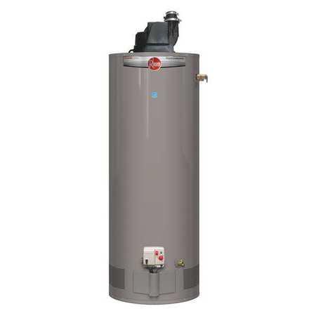 RHEEM Gas Water Heater,50 gal.,42,000 BtuH PROG50-42N RH67 (Rheem 50 Gallon Gas Hot Water Heater Prices)