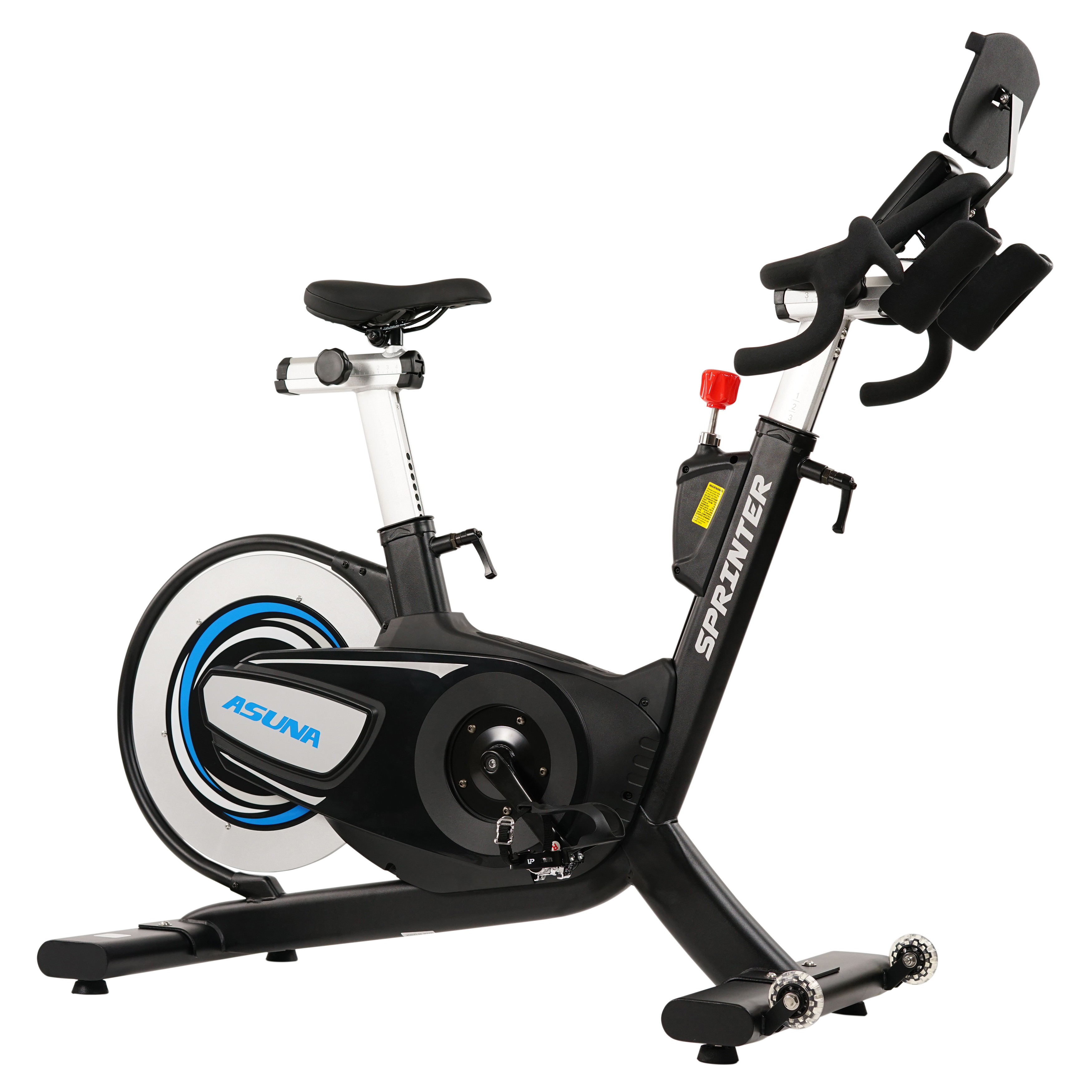 ASUNA Sprinter Cycle Exercise Bike Magnetic Belt, Rear Drive, High Weight Capacity Commercial Indoor Cycling... by Sunny Health & Fitness