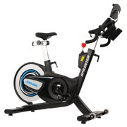 ASUNA Sprinter Cycle Exercise Bike Magnetic Belt, Rear Drive, High Weight Capacity Commercial Indoor Cycling Bike by Sunny Health & Fitness
