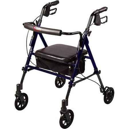 Carex Step N Rest Rollator A22300 Walmart Com