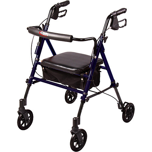 Carex Step 'n Rest Rollator A22300