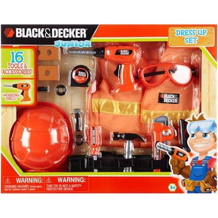 Black and Decker Junior Dress Up Play Set