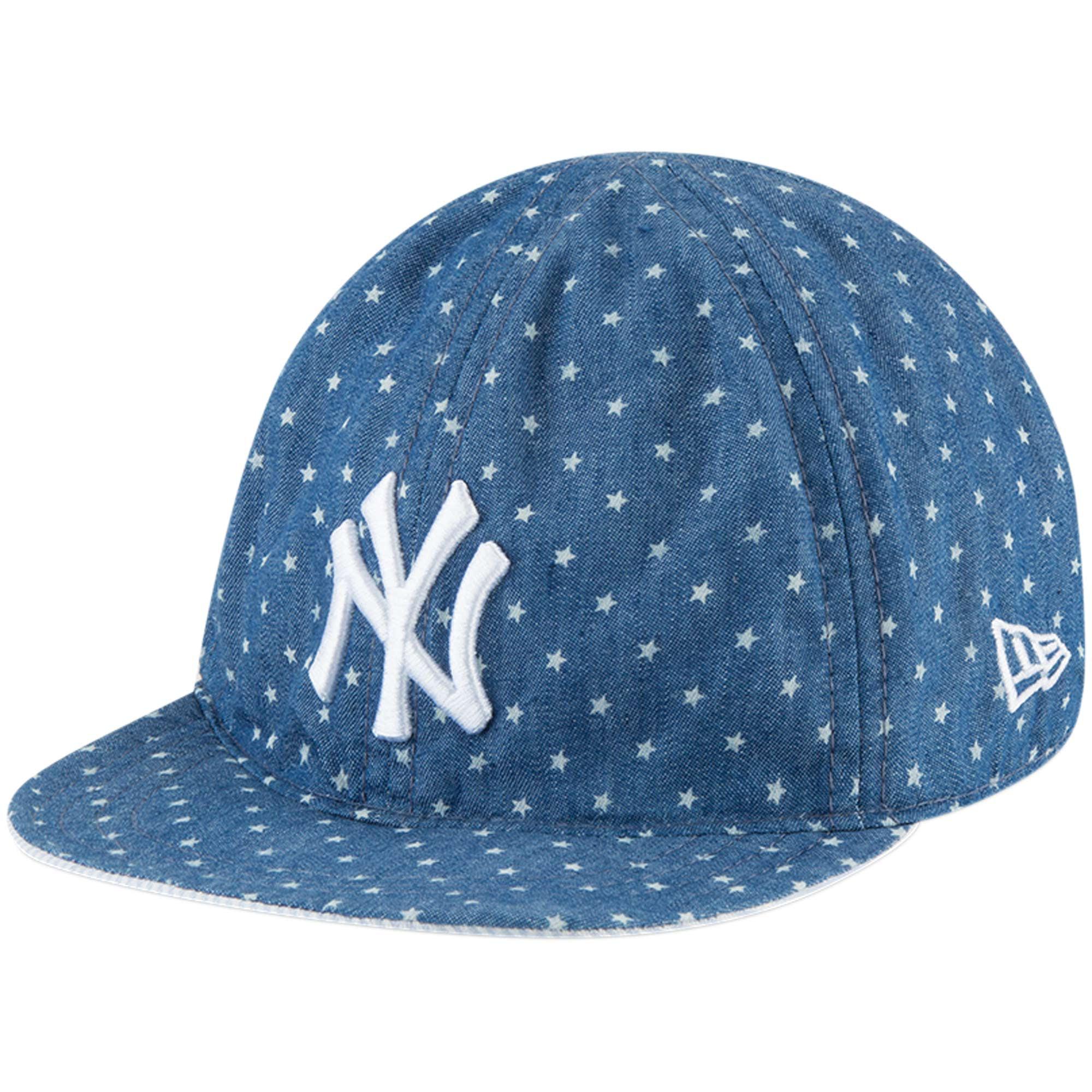 online retailer f4228 180ec ... spain new york yankees new era infant flip 9twenty adjustable hat denim  white osfa 5904a f64b0 ...