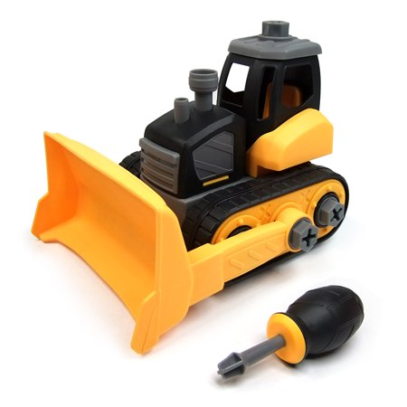 Wistoyz Scraper Toys, Take Apart STEM Fun Toys, Ages 3 4 5 & 6 year, Construction Truck Engineering Vehicle, Building Play Car Toys for Boys Girls Toddlers](Fun Toys For 3 Year Olds)