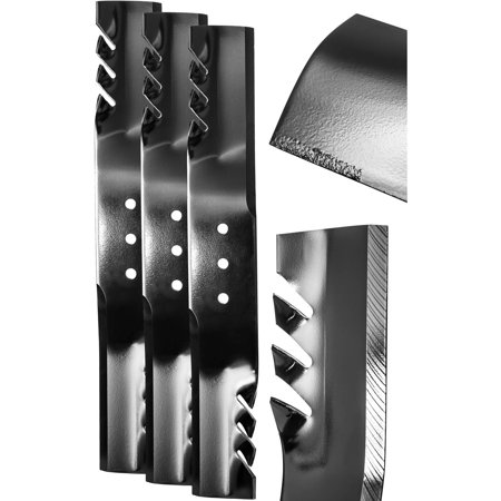 "Replacement 20.5"" G6 Commercial Grade Blade Set for 60"" Finish-Cut Mowers -  Swisher, 20187"