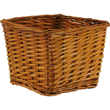 "Willow Basket, 10"" x 10"" x 8""H"