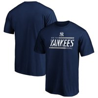 Men's Fanatics Branded Navy New York Yankees Iconic Team Gradient T-Shirt