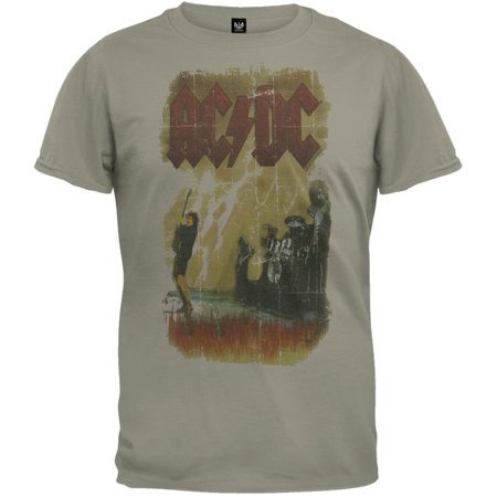AC/DC - Let There Be Rock Soft T-Shirt (Ac Dc Let There Be Rock Shirt)