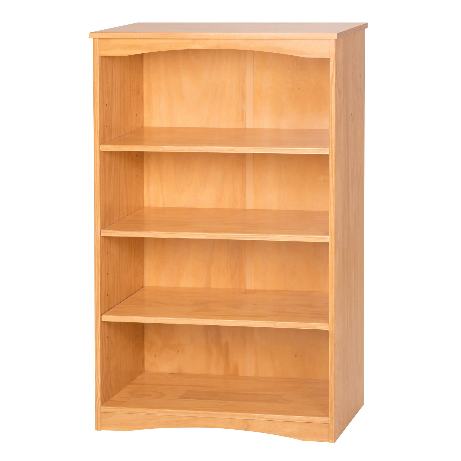 "Essentials Wooden Bookcase 48"" High - Multiple Finishes"