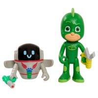 PJ Masks Hero vs. Villian 2-Pk Figure Set - Gekko & PJ Robot
