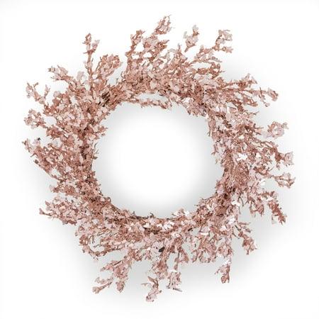 Belham Living Rose Gold Christmas Wreath, 20 in ()
