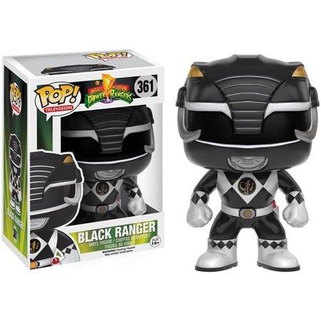 Power Rangers Black Ranger (FUNKO POP! TELEVISION: POWER RANGERS - BLACK)