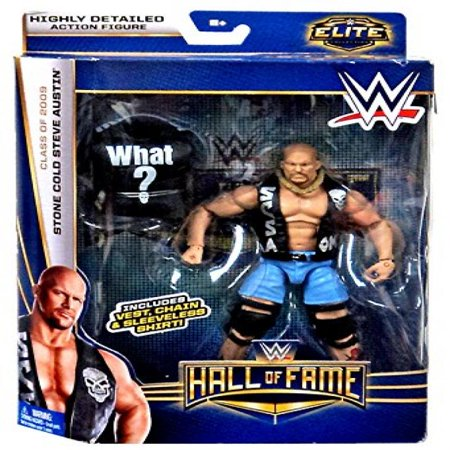 WWE, Elite Collection Hall of Fame Exclusive Action Figure, Stone Cold Steve