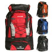 80L Large Outdoor Backpack Luggage Bag Hiking Camping Travel Multi-Pocket Design Backpack