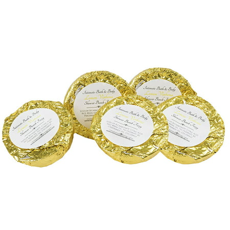 - Shower Bomb Fizzies! 5 Pack Aromatherapy Shower Steamers -Lemon Verbena