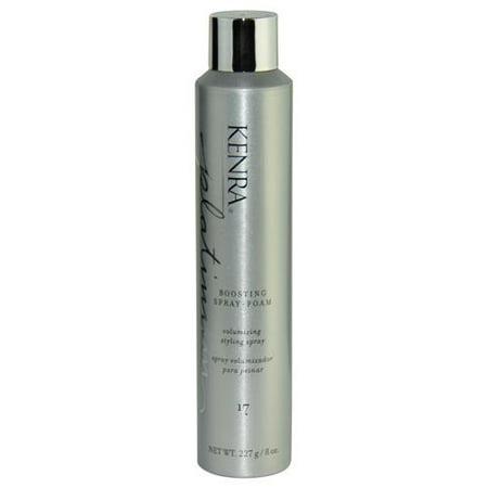 Kenra Platinum Boosting Hairspray Foam 8 Oz -
