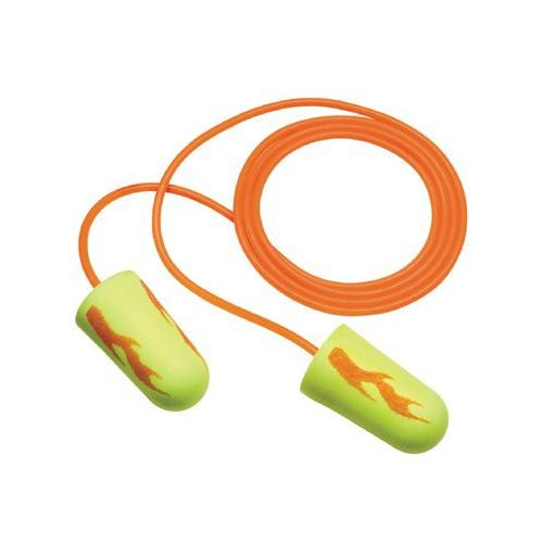 3M Personal Safety Division E-A-Rsoft Yellow Neon Blasts Foam Earplugs - 311-...